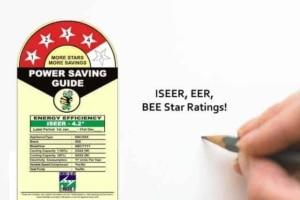 ISEER, EER, BEE Star Ratings For Air Conditioners