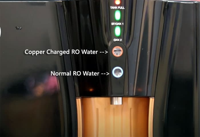 Pureit Copper RO with copper charged water