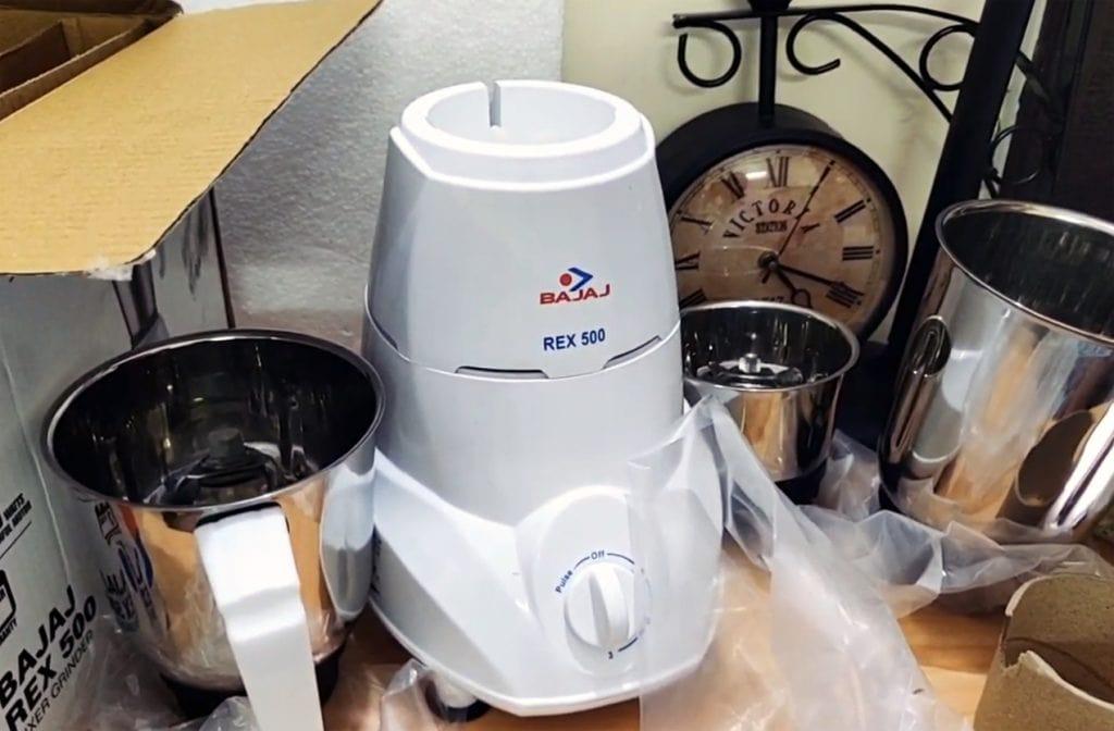 500 W Mixer Grinder