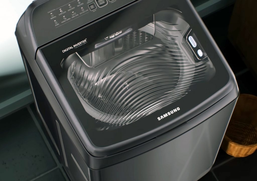 Samsung top load with Digital Inverter tech