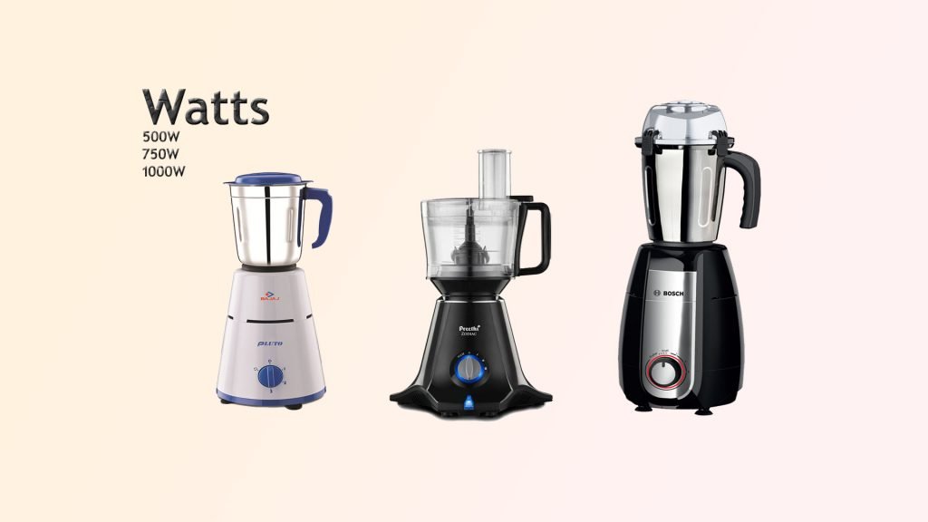 Watts Mixer Grinder