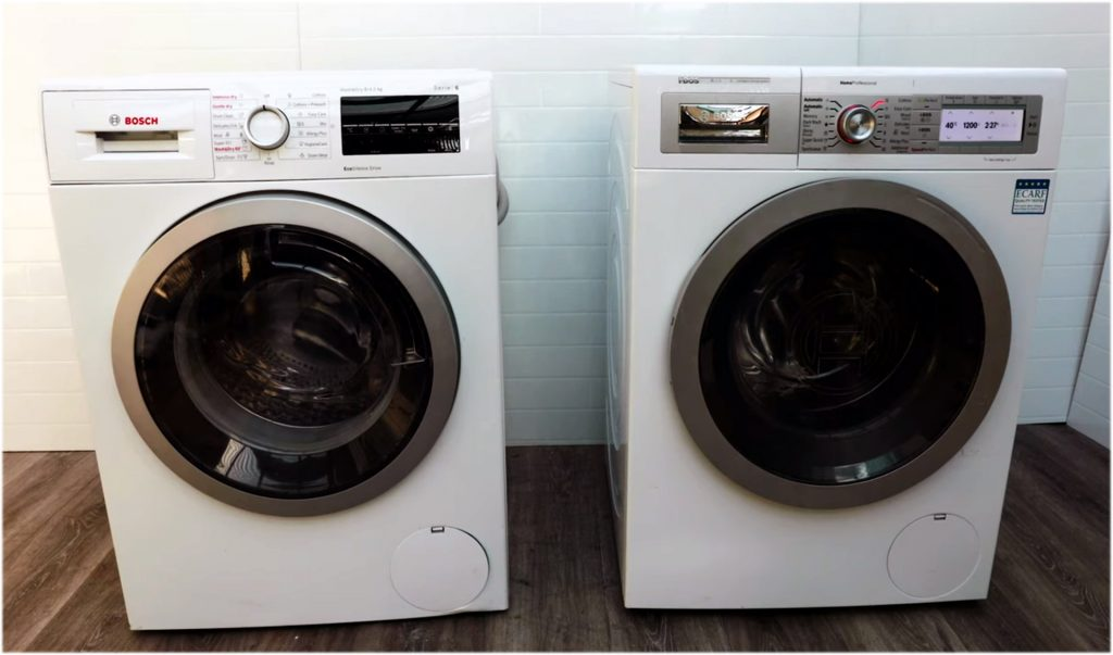bosch front load washing machines