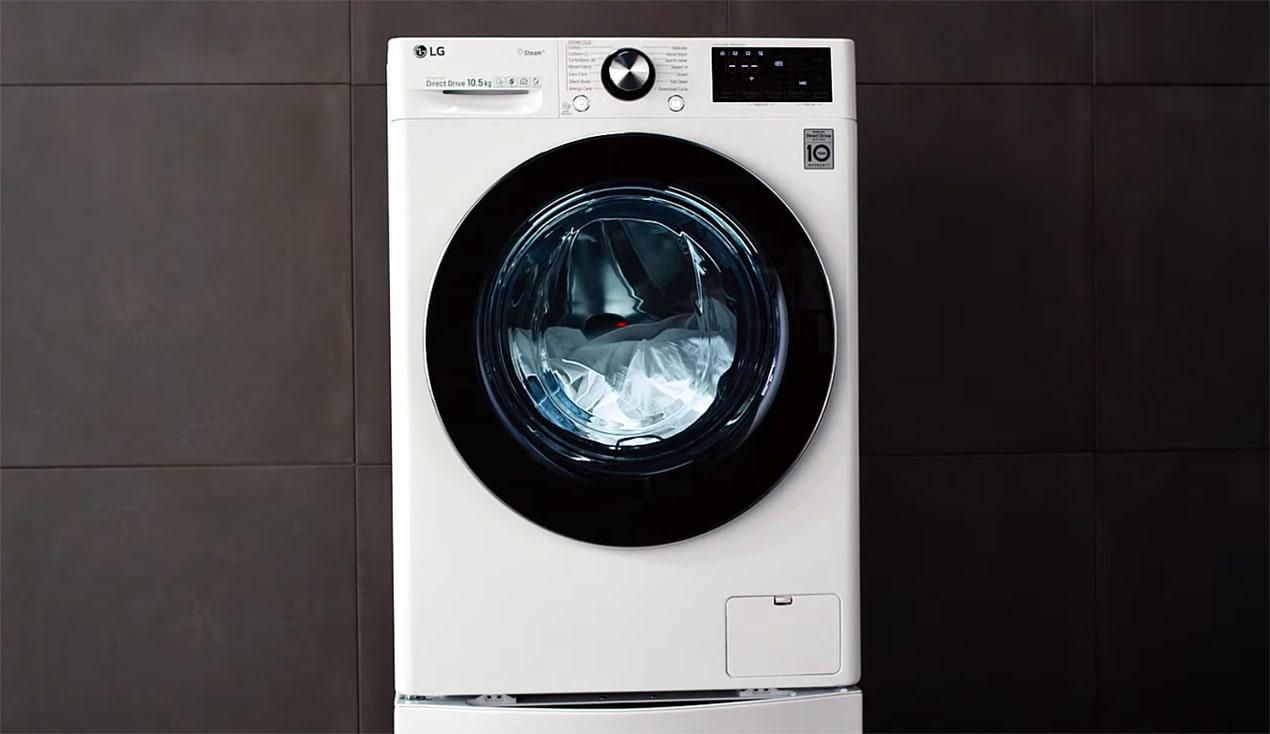 AI in LG washing machine