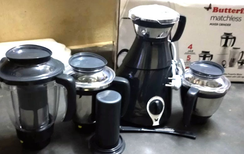 Butterfly Matchless 750 W Juicer Mixer Grinder