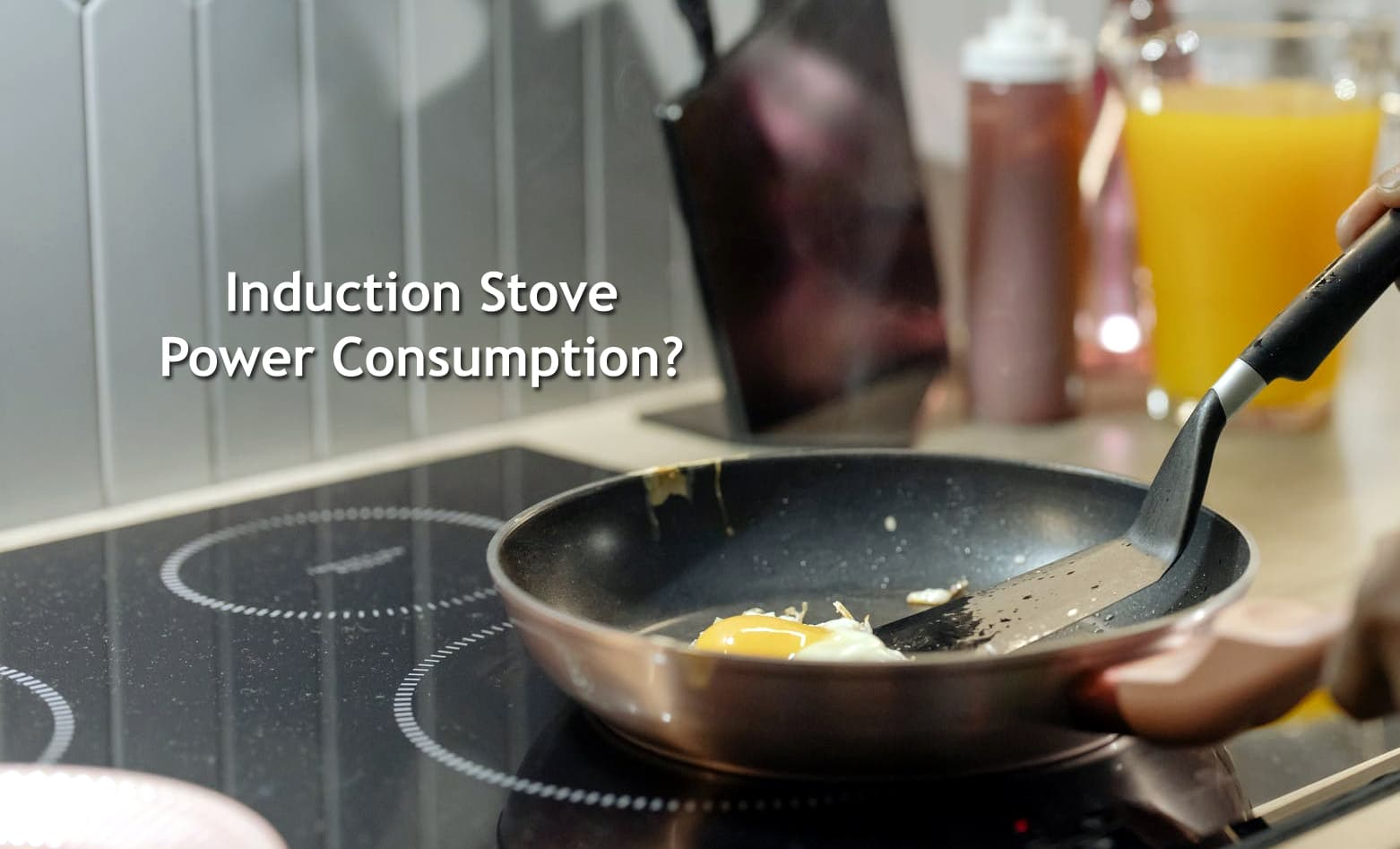 Induction Stove Power Consumption Calculator