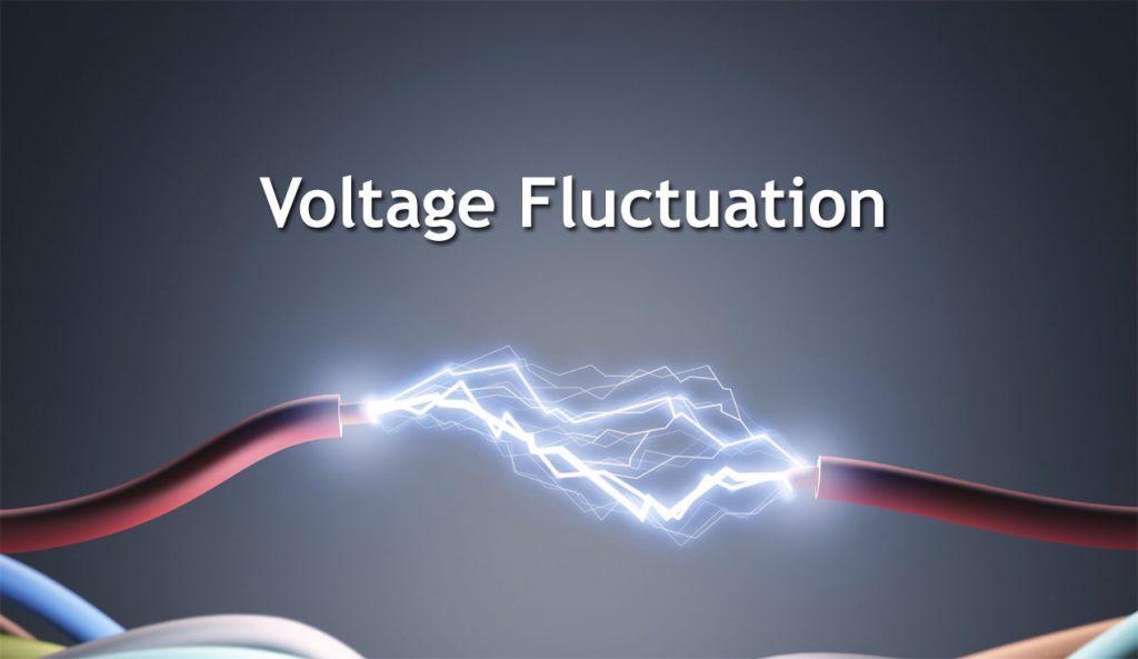voltage fluctuation